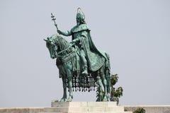 Άγαλμα του ST Stephen στοκ φωτογραφίες