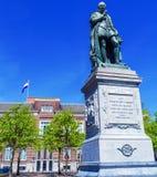 Άγαλμα του Wilhelm ΙΙ σε Plein, Χάγη, Ολλανδία Στοκ εικόνα με δικαίωμα ελεύθερης χρήσης