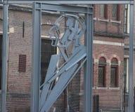 Άγαλμα του Willem Drees στη Χάγη, ένας από τους μεγαλύτερους κοινωνικούς δημοκράτες στις Κάτω Χώρες στοκ εικόνες