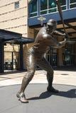 Άγαλμα του Willie Stargell στο πάρκο PNC στοκ εικόνα