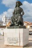 Άγαλμα των DOM Henrique ινφαντών Στοκ φωτογραφία με δικαίωμα ελεύθερης χρήσης