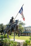 Άγαλμα των Texas Rangers Στοκ φωτογραφία με δικαίωμα ελεύθερης χρήσης