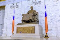Άγαλμα χαλκού του Kai -Kai-shek Chiang Στοκ Φωτογραφίες