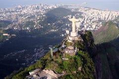 άγαλμα Χριστού de janeiro Ρίο στοκ φωτογραφία με δικαίωμα ελεύθερης χρήσης
