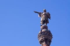 Άγαλμα Colombus Στοκ Εικόνα