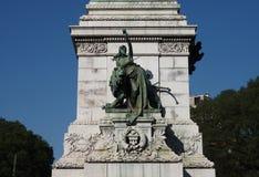 Άγαλμα Garibaldi στο Μιλάνο, Λομβαρδία, Ιταλία Στοκ φωτογραφία με δικαίωμα ελεύθερης χρήσης