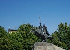 Άγαλμα Jerevan Zoravar Andranik στοκ εικόνες
