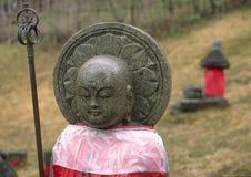 άγαλμα jizo Στοκ φωτογραφία με δικαίωμα ελεύθερης χρήσης
