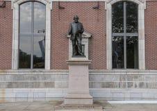 Άγαλμα Joseph Leidy χαλκού από το Samuel Murray, στην ακαδημία των φυσικών επιστημών, χώρος στάθμευσης του Benjamin Franklin, Φιλ Στοκ εικόνα με δικαίωμα ελεύθερης χρήσης