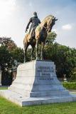 Άγαλμα Leopold ΙΙ στις Βρυξέλλες, Βέλγιο Στοκ φωτογραφίες με δικαίωμα ελεύθερης χρήσης