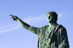Άγαλμα Nerone αυτοκρατόρων Στοκ Εικόνες
