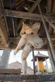 Άγαλμα Ogoh Ogoh που δημιουργείται από τους ινδούς χωρικούς του Μπαλί σε προετοιμασία για τη νύχτα Pengrupukan Μπαλί, Ινδονησία â στοκ φωτογραφίες