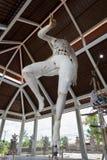 Άγαλμα Ogoh Ogoh που δημιουργείται από τους ινδούς χωρικούς του Μπαλί σε προετοιμασία για τη νύχτα Pengrupukan Μπαλί, Ινδονησία â στοκ εικόνες με δικαίωμα ελεύθερης χρήσης