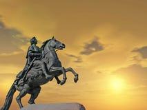 άγαλμα Peter Στοκ εικόνα με δικαίωμα ελεύθερης χρήσης