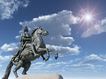 άγαλμα Peter Στοκ Φωτογραφίες