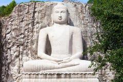 Άγαλμα Samadhi Βούδας Rambadagalla Στοκ εικόνα με δικαίωμα ελεύθερης χρήσης