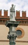 Άγαλμα Sant «Vitaly στη Ραβένα Στοκ φωτογραφία με δικαίωμα ελεύθερης χρήσης