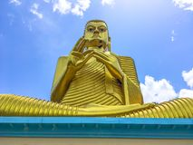 Άγαλμα Sculpure, Σρι Λάνκα του Βούδα στοκ εικόνα με δικαίωμα ελεύθερης χρήσης