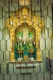 Άγαλμα Shree Swaminarayan Bhagwan, BAPS Swaminarayan mandir Katraj στοκ εικόνες με δικαίωμα ελεύθερης χρήσης