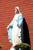 άγαλμα Virgin Mary Στοκ Εικόνα