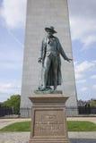 Άγαλμα William Prescott   Στοκ Εικόνες