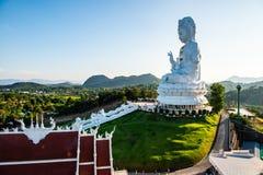 Άγαλμα Yin Guan στο ναό Hyuaplakang στοκ φωτογραφίες με δικαίωμα ελεύθερης χρήσης