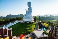 Άγαλμα Yin Guan στο ναό Hyuaplakang στοκ εικόνα με δικαίωμα ελεύθερης χρήσης