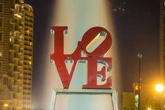 Άγαλμα αγάπης στη Φιλαδέλφεια Στοκ Φωτογραφία