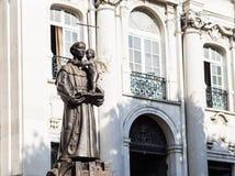 Άγαλμα Αγίου Anthony της Λισσαβώνας Στοκ φωτογραφία με δικαίωμα ελεύθερης χρήσης