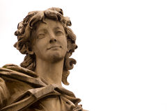 Άγαλμα αγγέλου σε Ponte Sant'Angelo Στοκ Φωτογραφίες