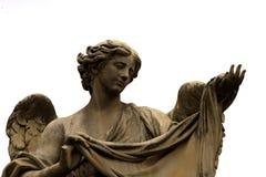 Άγαλμα αγγέλου σε Ponte Sant'Angelo Στοκ Εικόνες