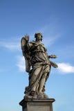 Άγαλμα αγγέλου στο Ponte Sant Angelo στη Ρώμη, Ιταλία Στοκ εικόνα με δικαίωμα ελεύθερης χρήσης