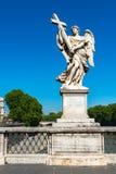 Άγαλμα αγγέλου στο Ponte Sant ` Angelo στη Ρώμη Στοκ φωτογραφίες με δικαίωμα ελεύθερης χρήσης