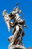 Άγαλμα αγγέλου στο Ponte Sant ` Angelo στη Ρώμη Στοκ φωτογραφία με δικαίωμα ελεύθερης χρήσης