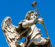 Άγαλμα αγγέλου στο Ponte Sant ` Angelo στη Ρώμη Στοκ εικόνες με δικαίωμα ελεύθερης χρήσης