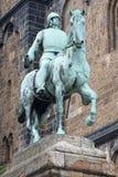 Άγαλμα αιθουσών πόλεων της Βρέμης στοκ φωτογραφίες