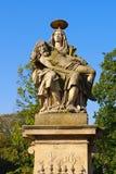 Άγαλμα από τη γέφυρα του ST Johns, Klodzko Glatz, Σιλεσία Στοκ Φωτογραφίες