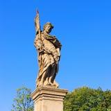 Άγαλμα από τη γέφυρα του ST Johns, Klodzko Glatz, Σιλεσία Στοκ φωτογραφία με δικαίωμα ελεύθερης χρήσης