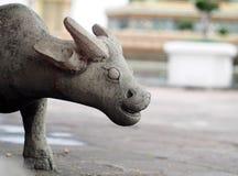 Άγαλμα αριθμού πετρών τεχνών Buffalo Στοκ εικόνες με δικαίωμα ελεύθερης χρήσης