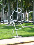 Άγαλμα αριθμού ραβδιών της Jackie Gleason Στοκ φωτογραφίες με δικαίωμα ελεύθερης χρήσης