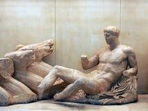 άγαλμα αρχαίου Έλληνα Στοκ φωτογραφίες με δικαίωμα ελεύθερης χρήσης