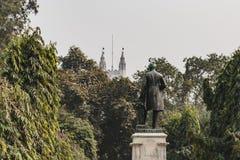 Άγαλμα ατόμων στην αναμνηστική αίθουσα Βικτώριας σε Kolkata, Ινδία Στοκ φωτογραφία με δικαίωμα ελεύθερης χρήσης