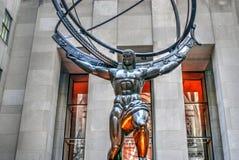 Άγαλμα ατλάντων στοκ φωτογραφία