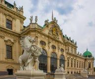 Άγαλμα αλόγων πανοραμικών πυργίσκων της Βιέννης Στοκ Εικόνα