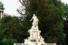 άγαλμα Βιέννη Μότσαρτ Στοκ Εικόνες