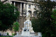 άγαλμα Βιέννη Μότσαρτ Στοκ εικόνες με δικαίωμα ελεύθερης χρήσης