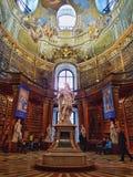 Άγαλμα βιβλιοθήκης Στοκ Εικόνες