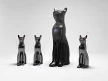 Άγαλμα γατών Στοκ φωτογραφία με δικαίωμα ελεύθερης χρήσης