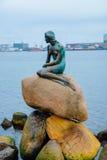 Άγαλμα γοργόνων Στοκ Εικόνες