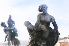 Άγαλμα γυναικών στη Ρώμη Στοκ εικόνα με δικαίωμα ελεύθερης χρήσης